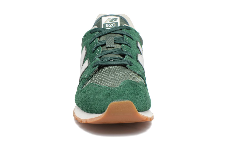 Baskets New Balance U520 Vert vue portées chaussures