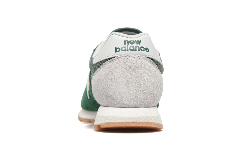 Baskets New Balance U520 Vert vue droite