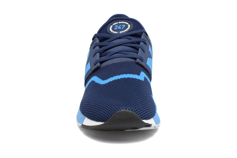 Baskets New Balance MRL247 Bleu vue portées chaussures
