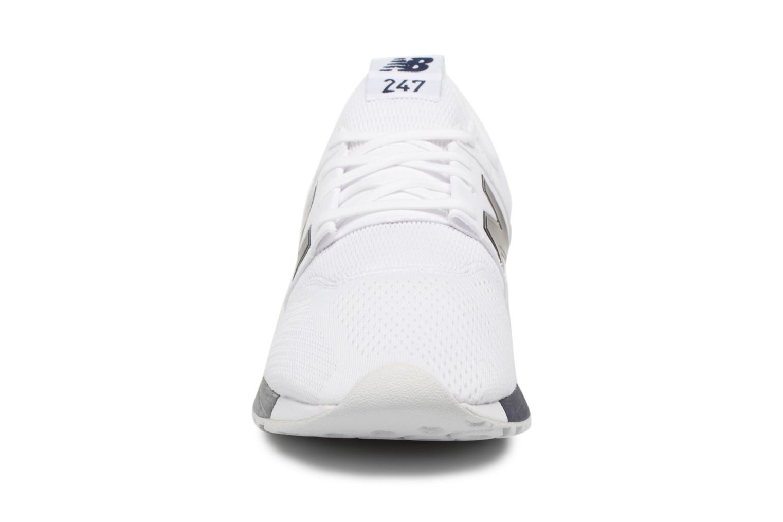 Baskets New Balance MRL247 Blanc vue portées chaussures