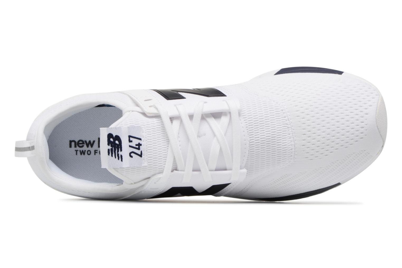 Baskets New Balance MRL247 Blanc vue gauche