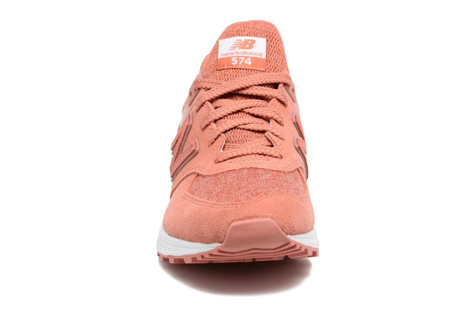 Peach New Balance WS574 (Rose)