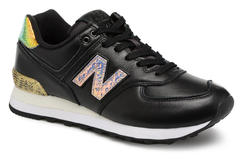 Grandes descuentos últimos zapatos New Balance WS574 (Negro) - Deportivas Descuento