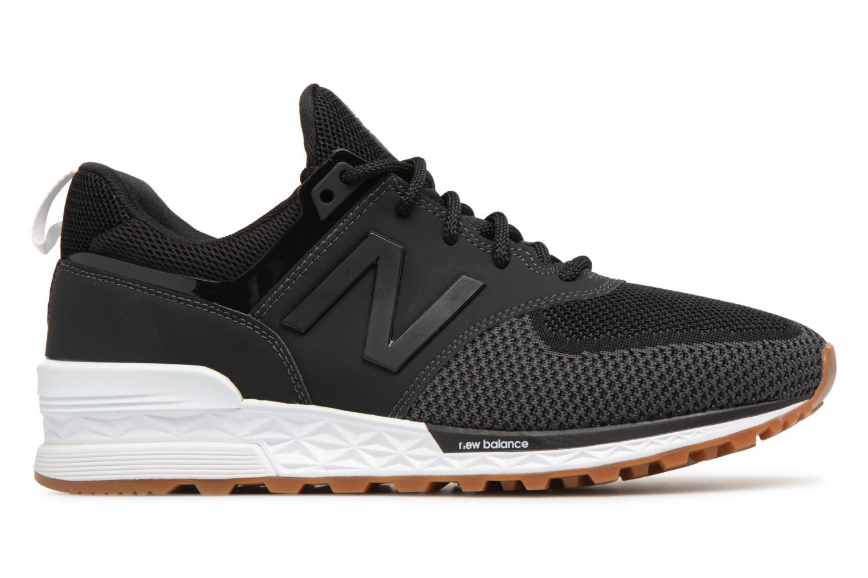 Sneakers New Balance MS574 Zwart achterkant