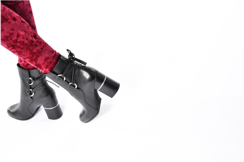 Bottines et boots What For Ross Calf Noir vue bas / vue portée sac
