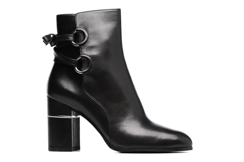Bottines et boots What For Ross Calf Noir vue derrière