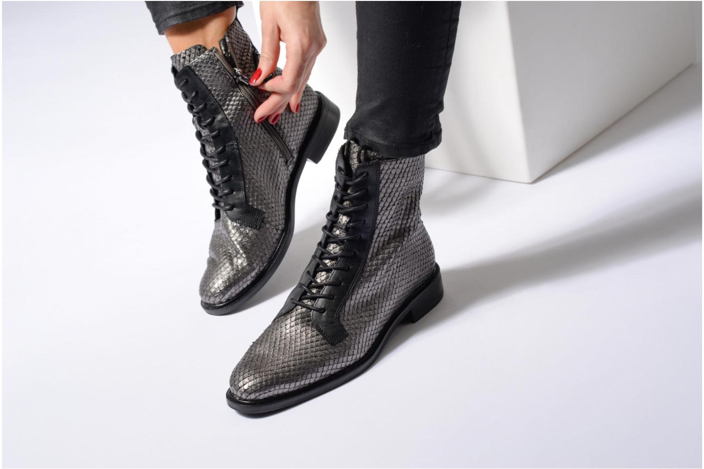 Bottines et boots What For Bree Nappa Noir vue bas / vue portée sac