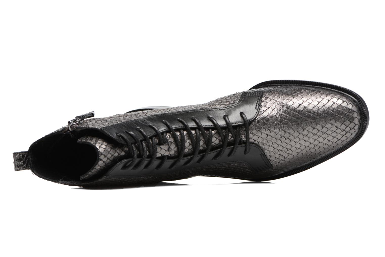 Bottines et boots What For Bree Nappa Argent vue gauche