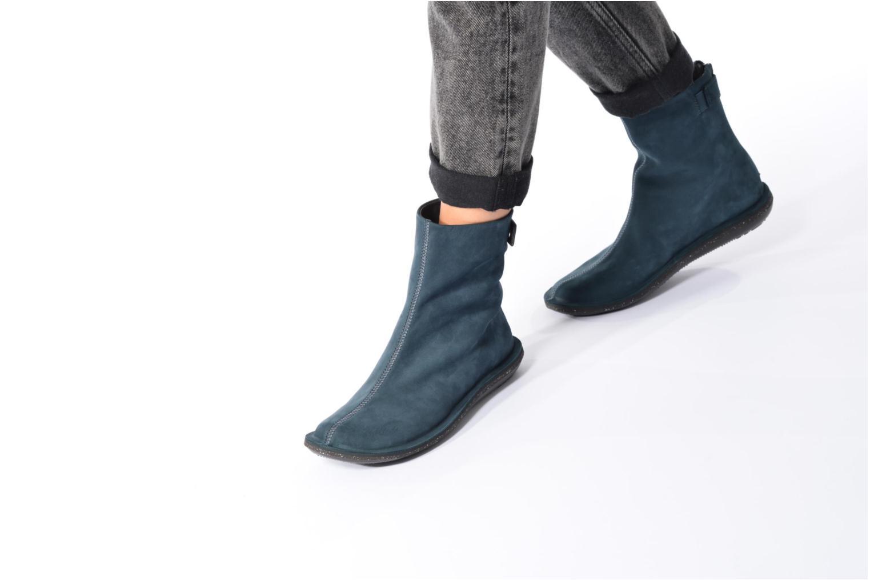 Bottines et boots Camper Betle K400010 Bleu vue bas / vue portée sac
