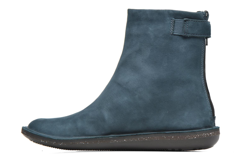 Bottines et boots Camper Betle K400010 Bleu vue face