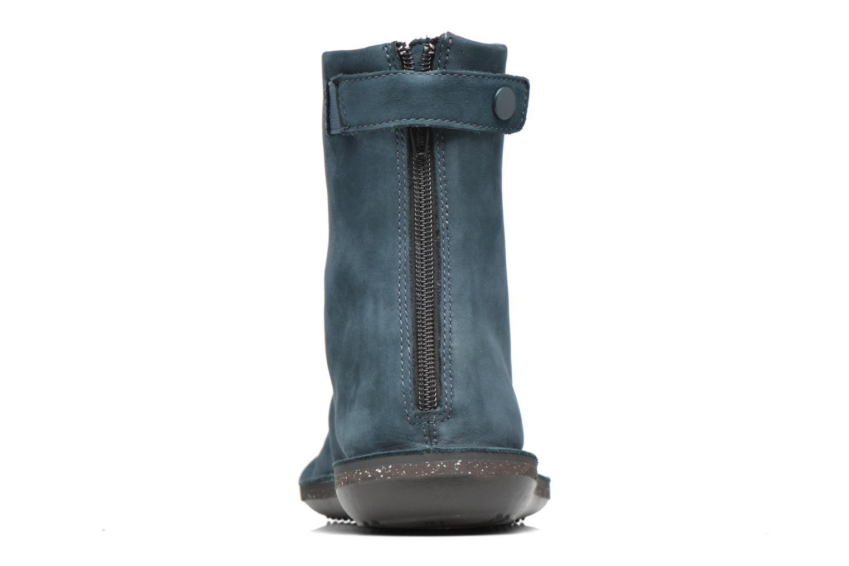 Bottines et boots Camper Betle K400010 Bleu vue droite