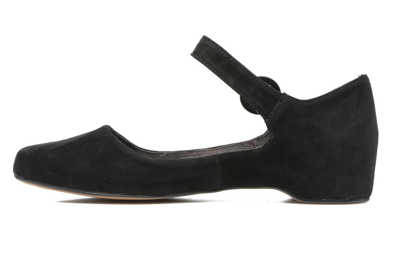 Ballet pumps Camper Serena K200491 Black front view
