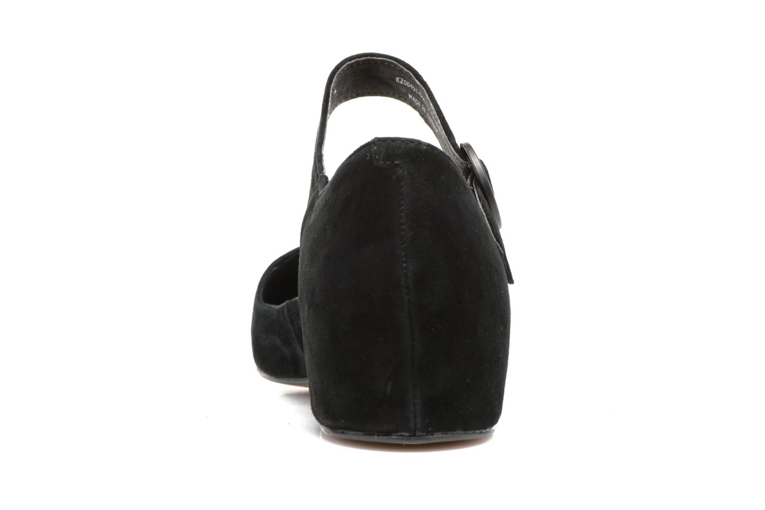 Ballet pumps Camper Serena K200491 Black view from the right