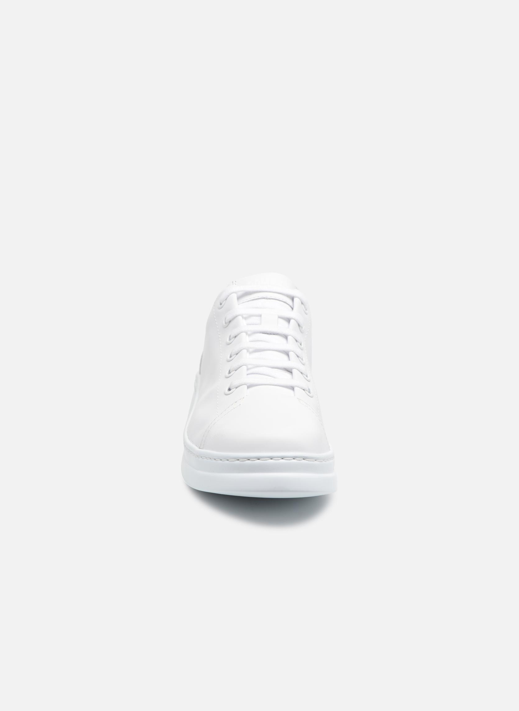 Baskets Camper Runner K200508 Blanc vue portées chaussures