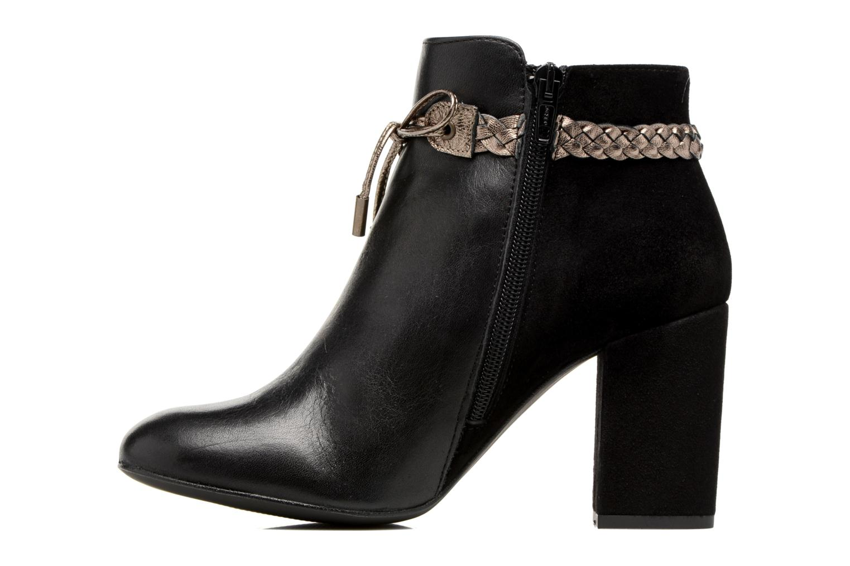 Ankle boots Georgia Rose Latressa Black front view