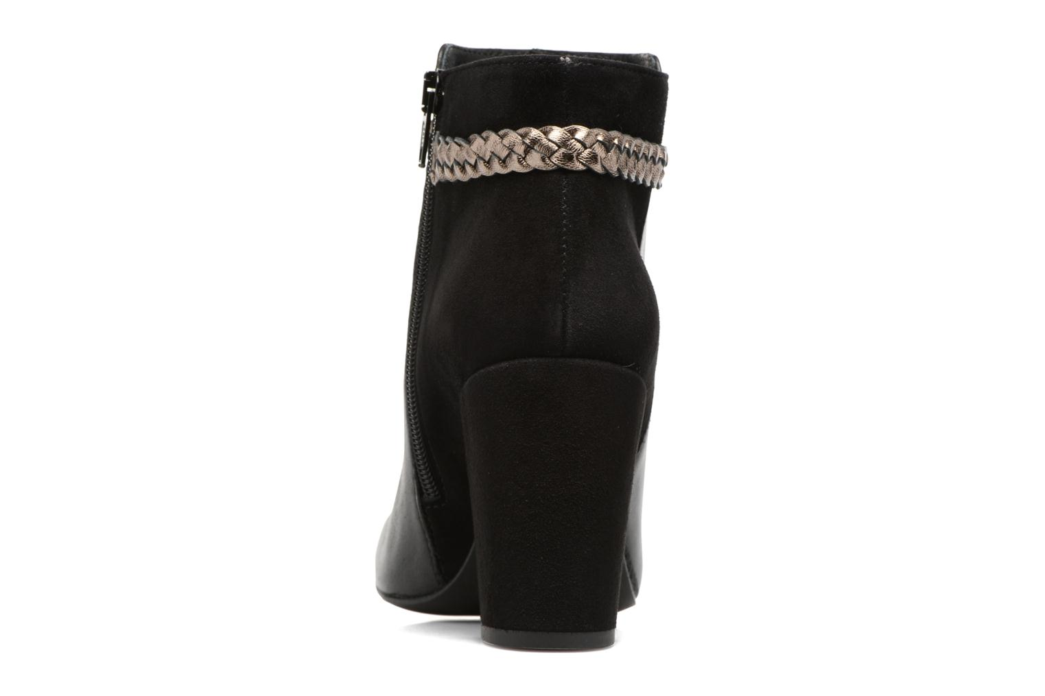 Ankle boots Georgia Rose Latressa Black view from the right