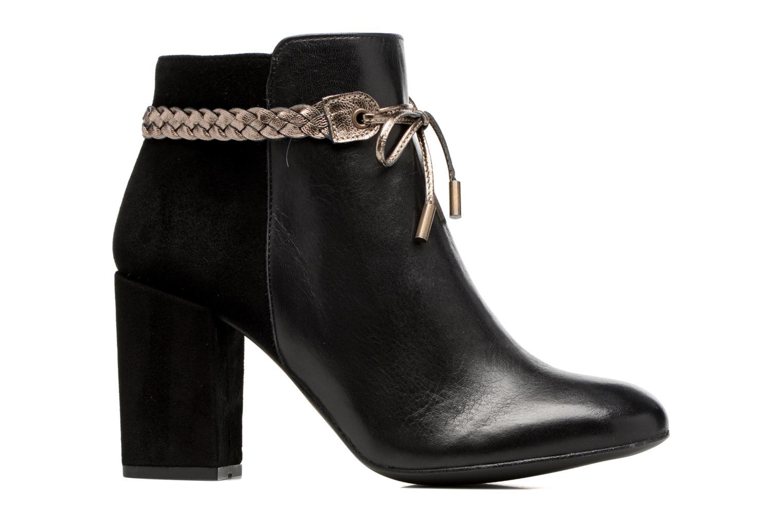 Bottines et boots Georgia Rose Latressa Noir vue derrière