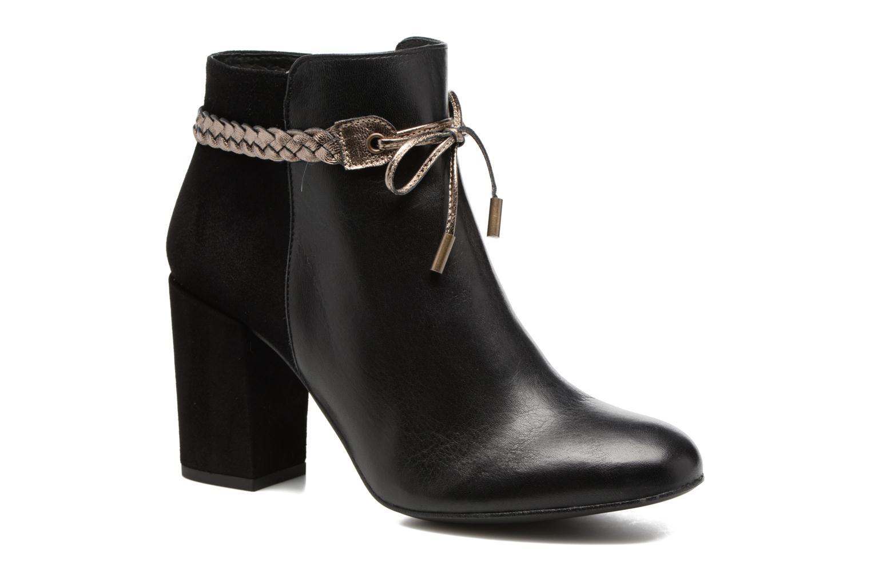 Georgia Rose Latressa (Noir) - Bottines et boots chez Sarenza (303657)
