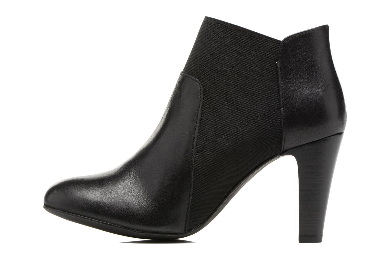 Bottines et boots Georgia Rose Lastic Noir vue face