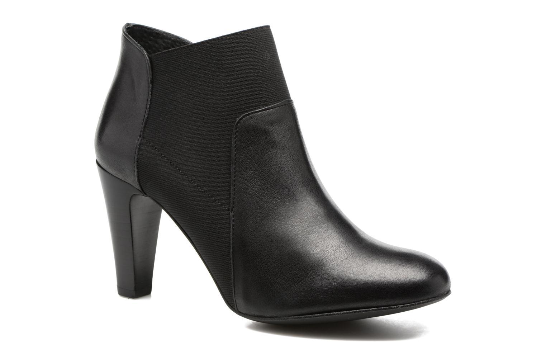 Bottines et boots Georgia Rose Lastic Noir vue détail/paire