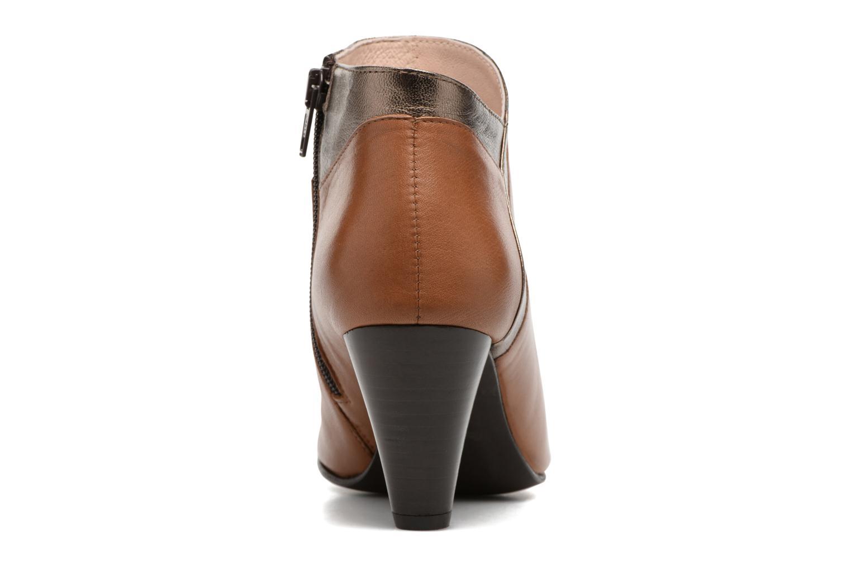 Bottines et boots Georgia Rose Lagodia Marron vue droite