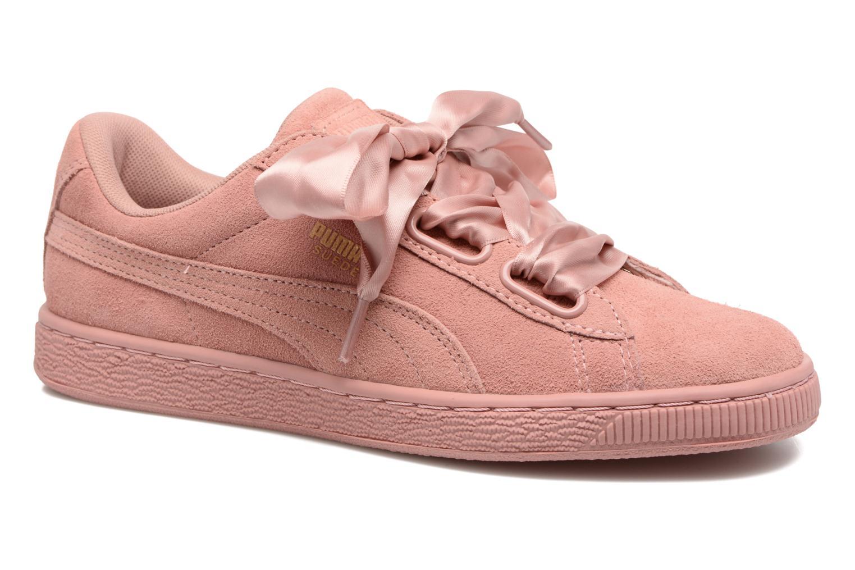 Grandes descuentos últimos zapatos Puma Wns Suede Heart Satin II (Rosa) - Deportivas Descuento