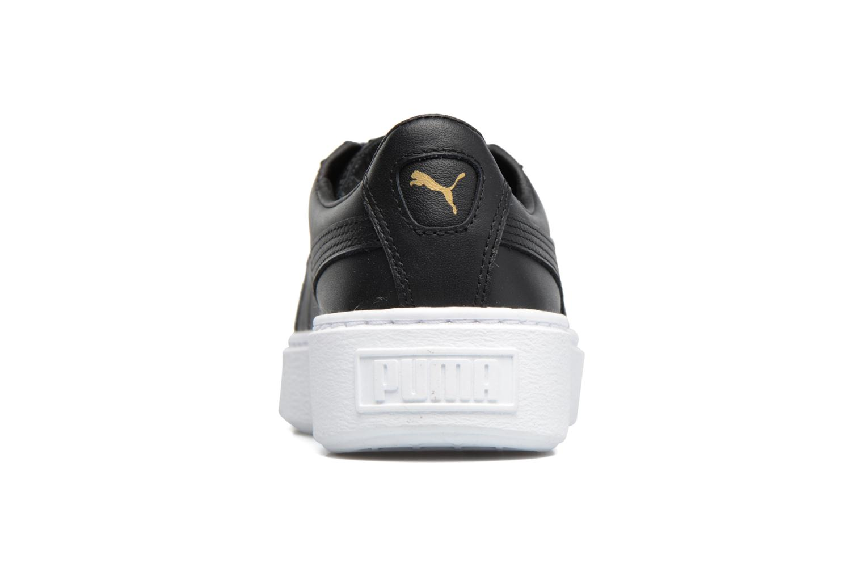 White Puma Wns Basket Platf Core (Blanc)