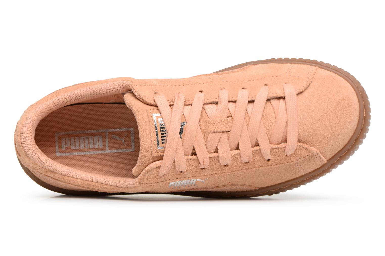 Grandes descuentos últimos zapatos Puma Wns Suede Platform Gum (Naranja) - Deportivas Descuento