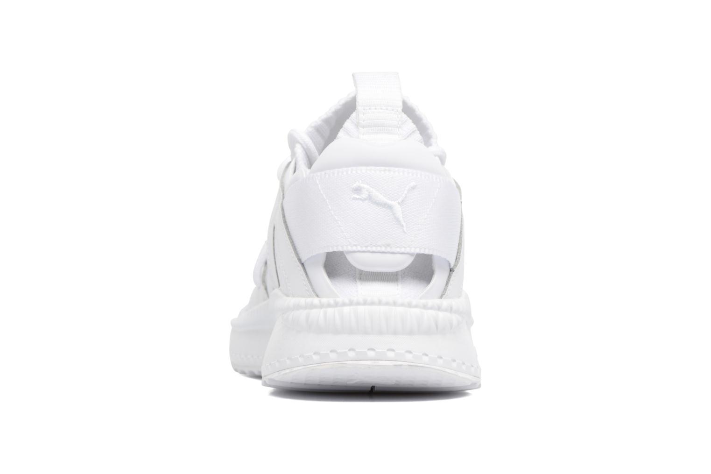 Baskets Puma Tsugi Blaze Evoknit Blanc vue droite