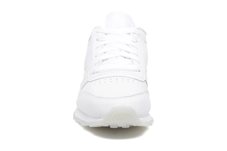 Baskets Reebok Cl Lthr L Blanc vue portées chaussures