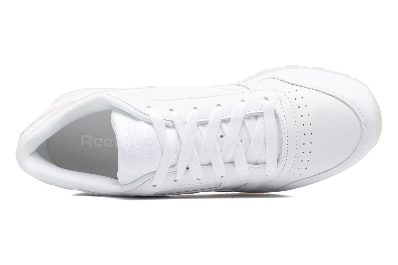 Baskets Reebok Cl Lthr L Blanc vue gauche
