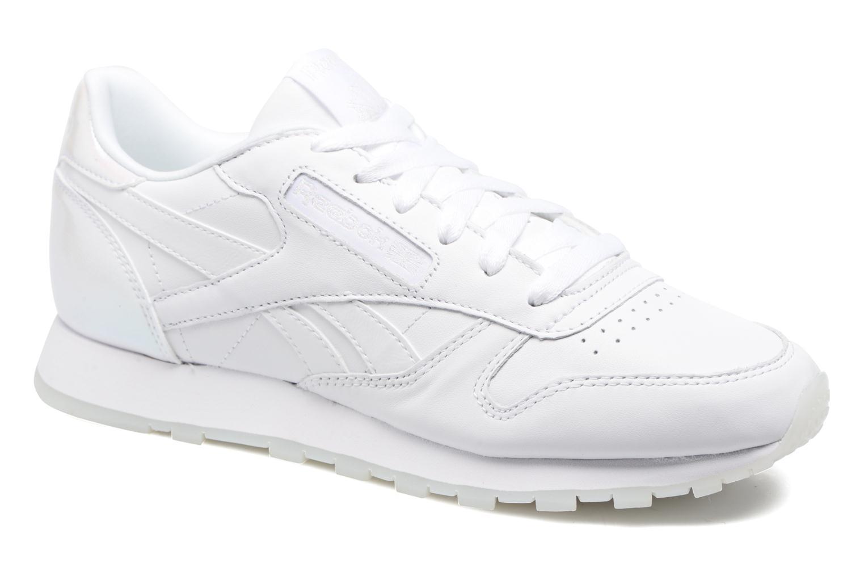 Cl Lthr L Pearl-White/White/Ice