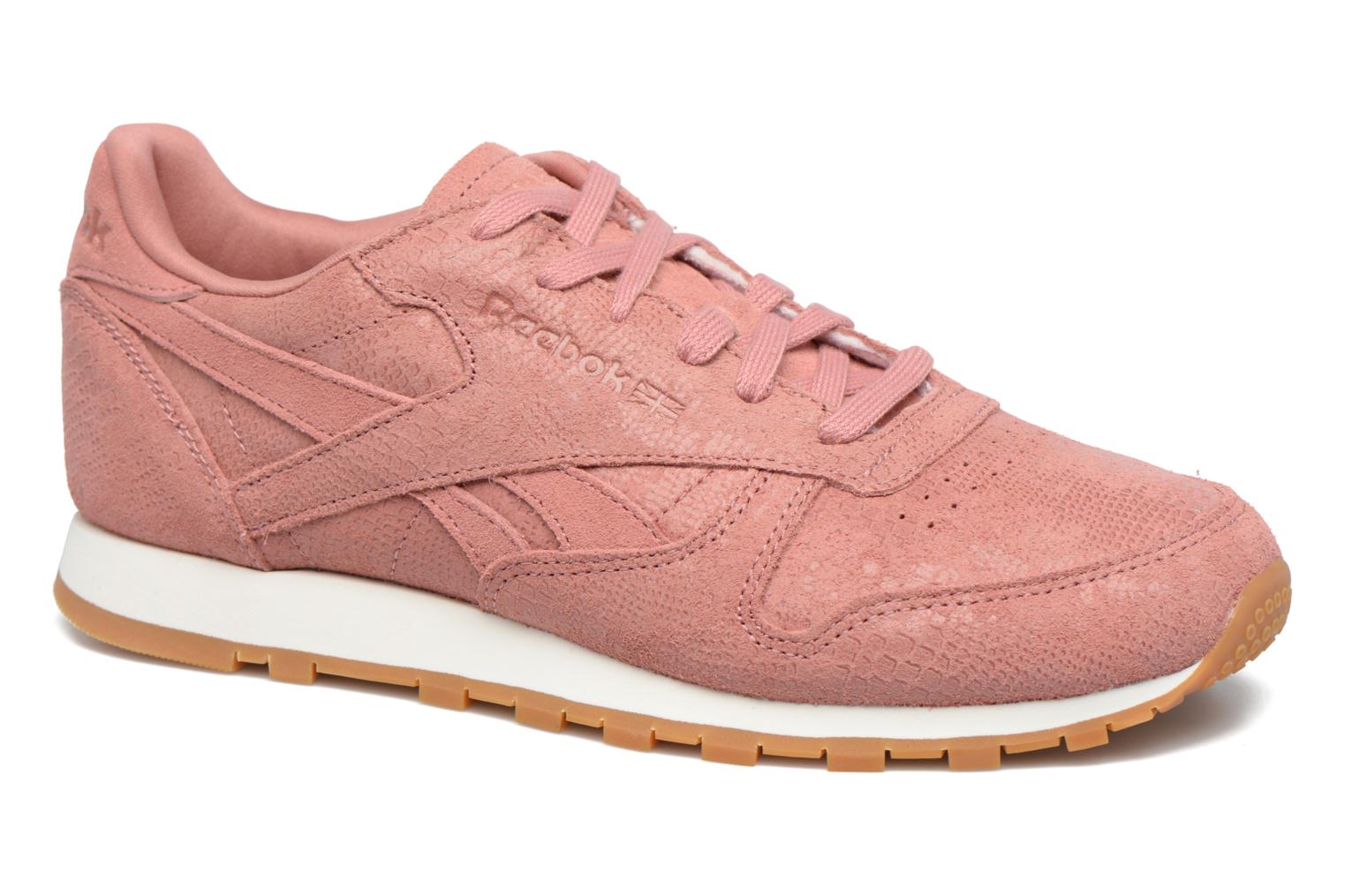 Cl Lthr Clean Exoti Sandy Rose/Chalk/Gum