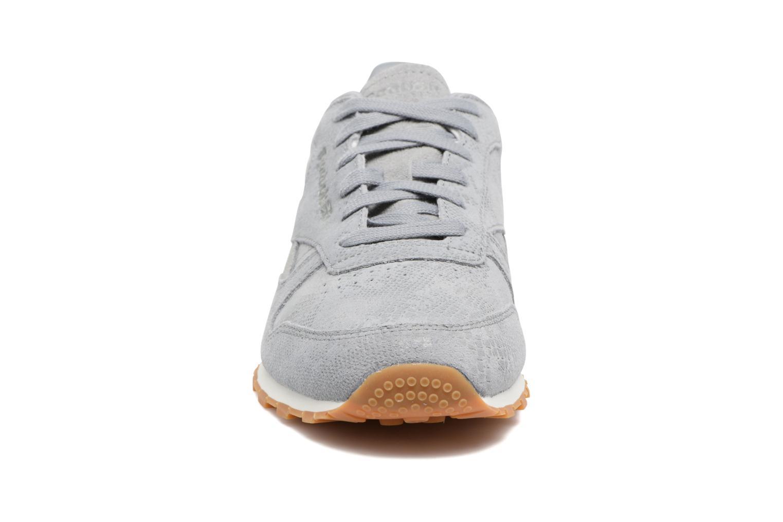 Cl Lthr Clean Exoti Flint Grey/Chalk/Gum