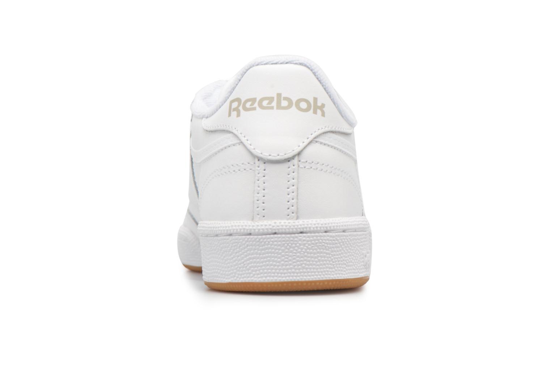 Baskets Reebok Club C85 W Blanc vue droite