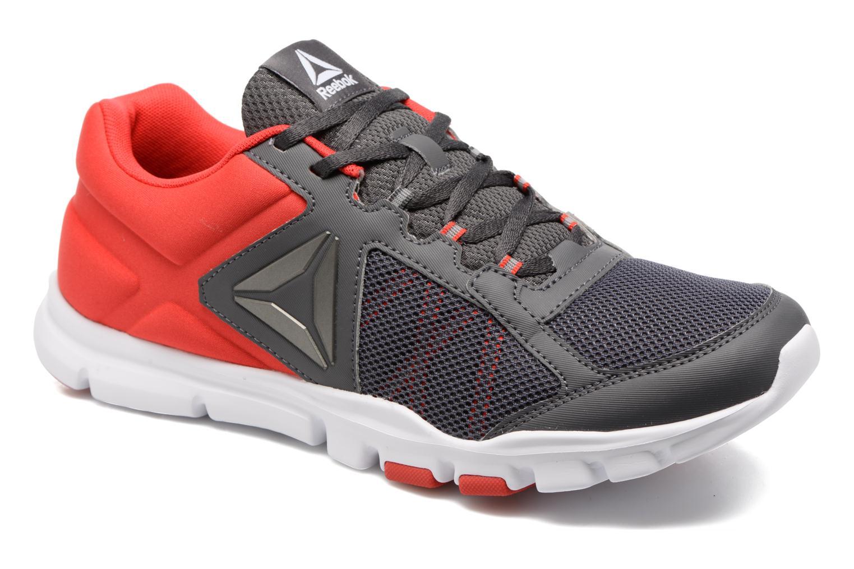 Chaussures de sport Reebok Yourflex Train 9.0 Rouge vue détail/paire