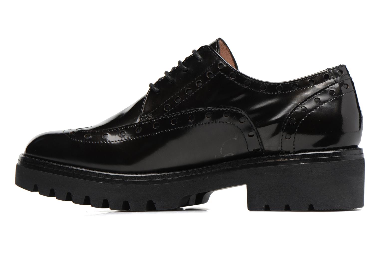 Zapatos con cordones Stonefly Perry 2 Negro vista de frente