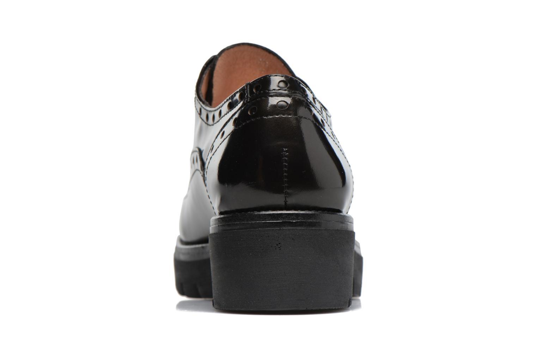 Zapatos con cordones Stonefly Perry 2 Negro vista lateral derecha