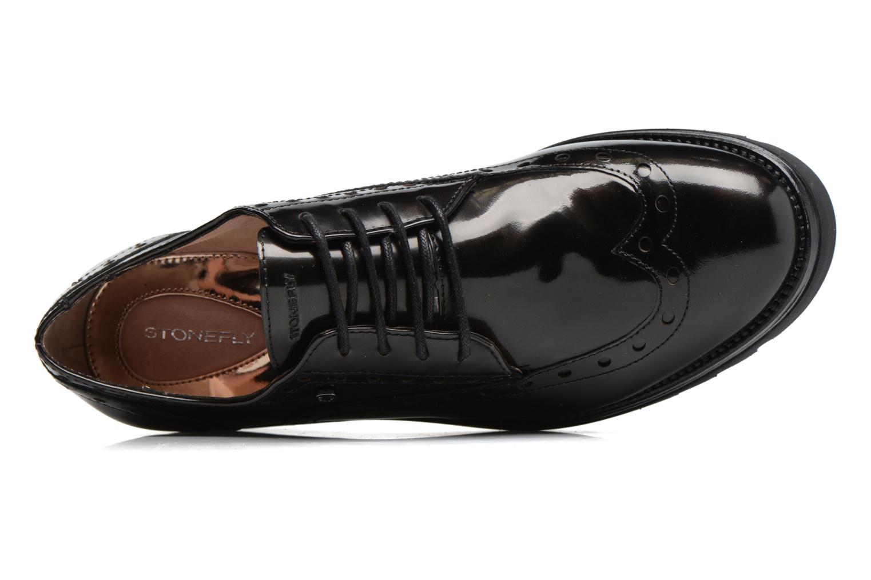 Zapatos con cordones Stonefly Perry 2 Negro vista lateral izquierda