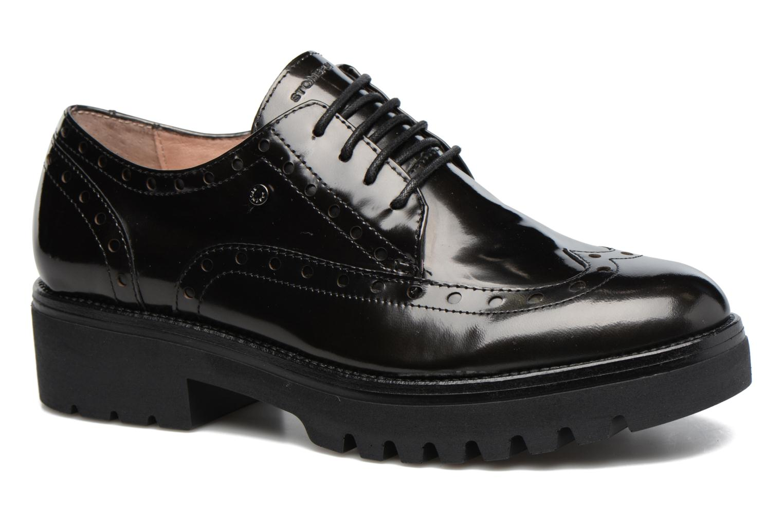 Zapatos con cordones Stonefly Perry 2 Negro vista de detalle / par