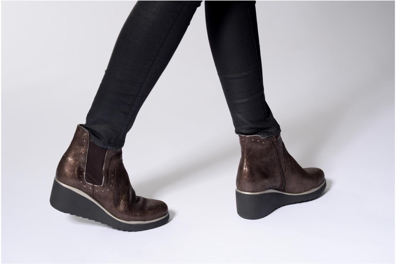 Grandes descuentos últimos zapatos Stonefly Eclipse 2 (Oro y bronce) - Botines  Descuento
