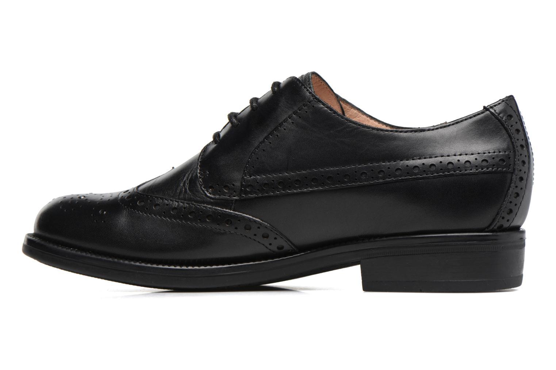 Zapatos con cordones Stonefly Clyde 21 Negro vista de frente