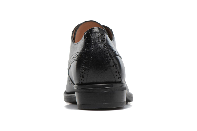 Zapatos con cordones Stonefly Clyde 21 Negro vista lateral derecha