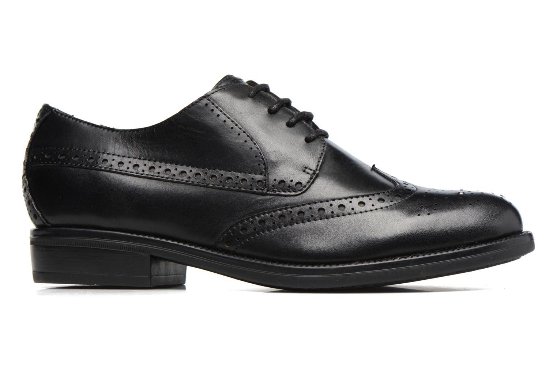 Zapatos con cordones Stonefly Clyde 21 Negro vistra trasera