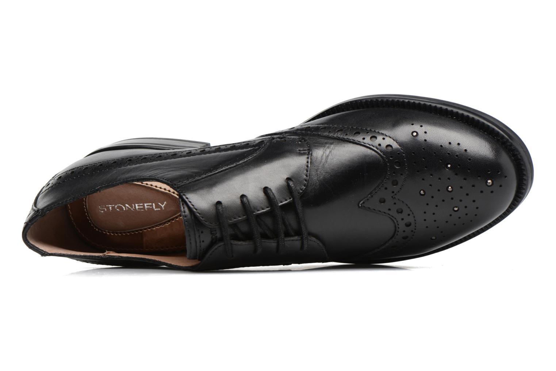 Zapatos con cordones Stonefly Clyde 21 Negro vista lateral izquierda