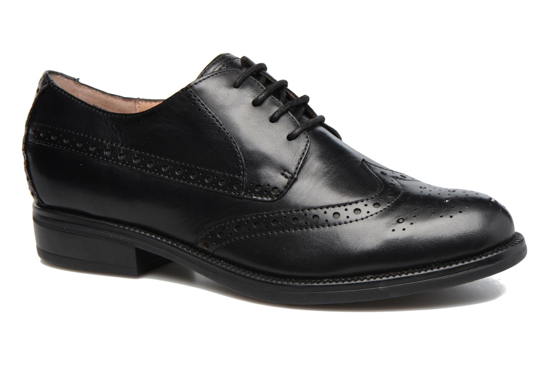 Zapatos con cordones Stonefly Clyde 21 Negro vista de detalle / par