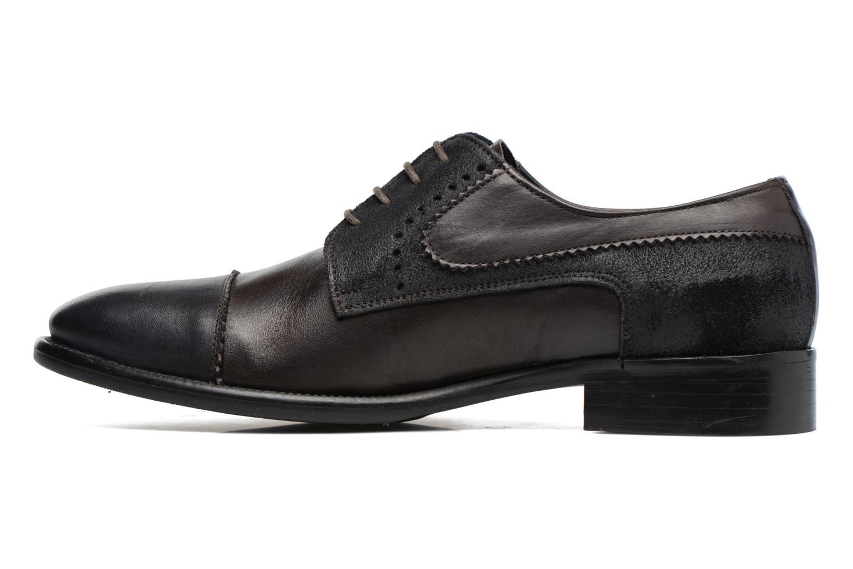 Chaussures à lacets Marvin&Co Daverton Marron vue face