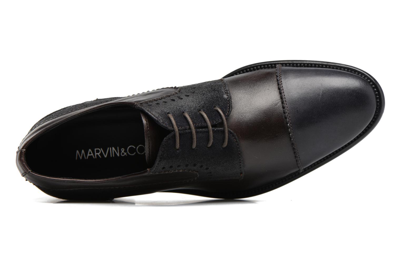 Chaussures à lacets Marvin&Co Daverton Marron vue gauche
