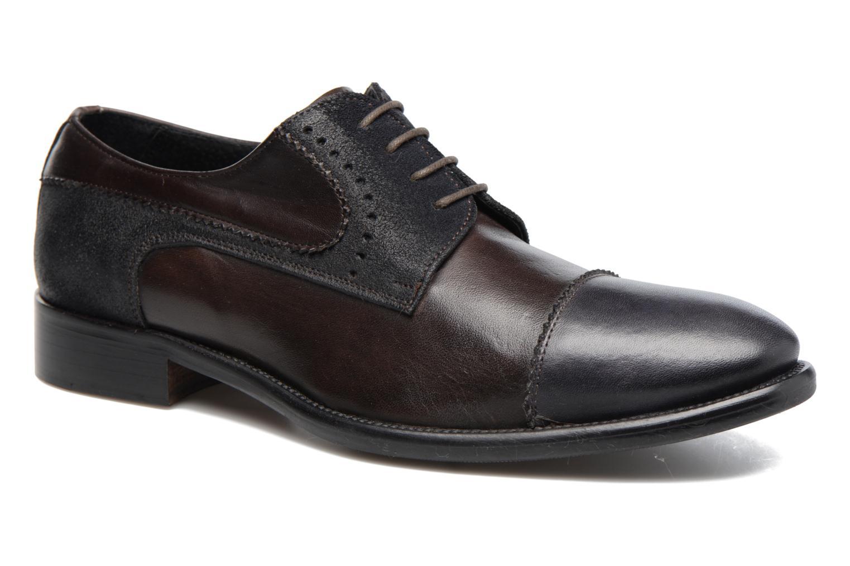 Chaussures à lacets Marvin&Co Daverton Marron vue détail/paire