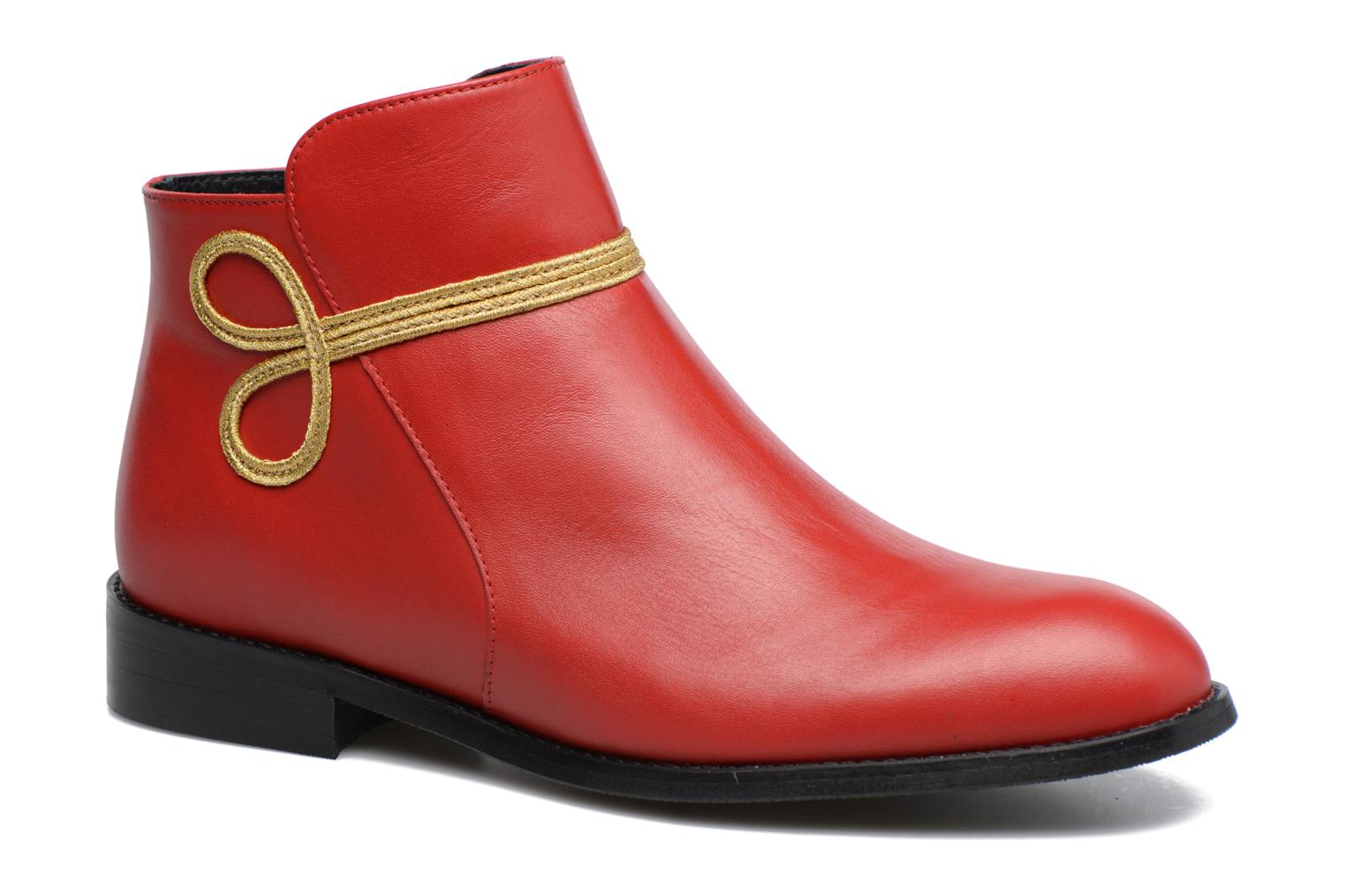 Bottines et boots Made by SARENZA Boots Camp #18 Rouge vue droite